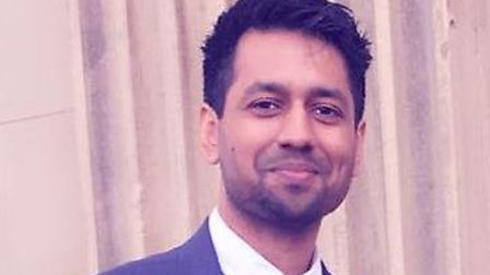 Wellcome Clinical Fellow and Addenbrooke's Hospital urology registrar Dr Harveer Dev. Picture: CUH