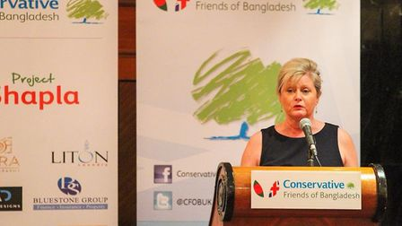 The annual Conservative Friends of Bangladesh dinner. Picture: Anne Main's office