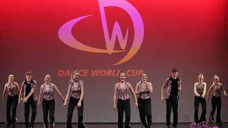 Dancers at the World Cup. Picture: Maxine Percy