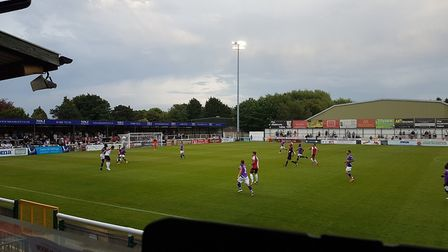 St Albans City travelled to Woking for their second Vanarama National League South fixture.
