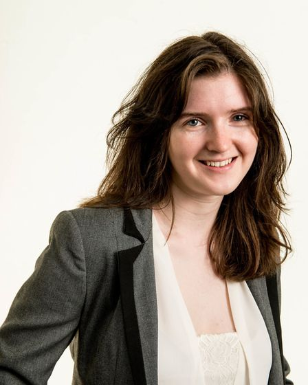 Caitlin Bent, home energy expert for the Energy Saving Trust. Picture: Ian Enness Photography/PA