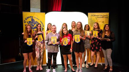 St Albans City Youth FC held their annual presentation day for all of their teams. Picture: OOMPH CR