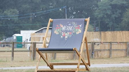 A look around the Meraki Festival site ahead of its opening tomorrow. Picture: DANNY LOO