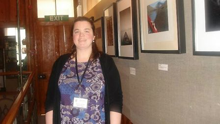 Museum manager Jenny Oxley. Picture: Royston & District Museum and Art Gallery