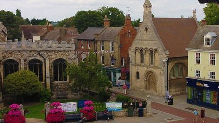 The Cromwell Museum is in Huntingdon