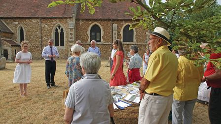 There has been an open day at St Denis' church, East Hatley - which is owned by The Friends of Frien