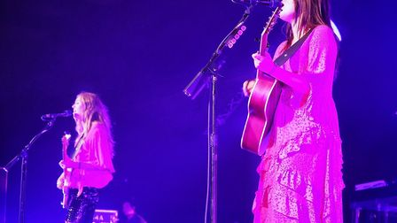First Aid Kit on stage. Picture: Celia Bartlett Photography