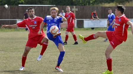 Simon Unwin scored the first goal as Godmanchester Rovers started the new season with a 5-0 win agai