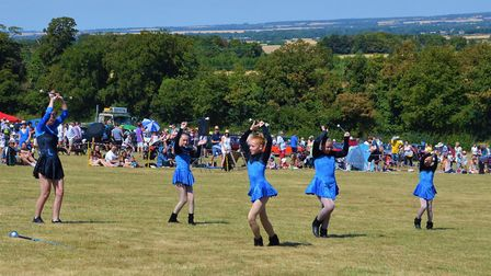 There were soaring temperatures for the 2018 Royston Kite Festival on Therfield Heath. Picture: Neil