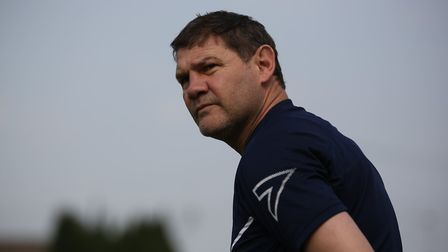 Royston Town manager Steve Castle is looking forward to the new Southern League season. Picture: DAN