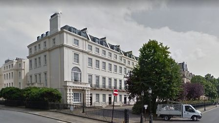 Christian Candy's multi-million pound development in Regent's Park, London, pictured before work com