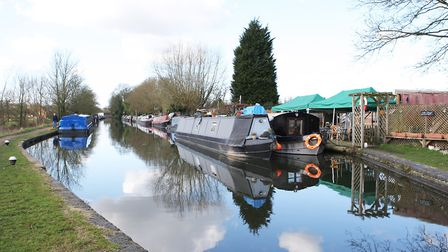 The Grand Union Canal, Boxmoor. Picture: Karyn Haddon