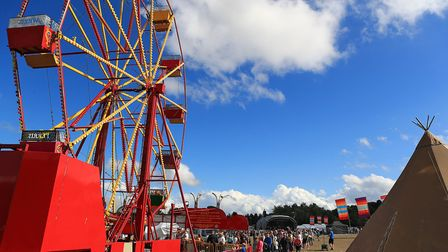 Big Wheel at Meraki Festival 2018. Picture: KEVIN RICHARDS