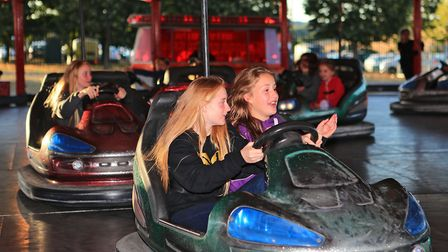 Fun on the dodgems at Meraki Festival 2018. Picture: KEVIN RICHARDS