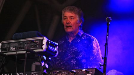 Legendary Don Airey on keys for Don Airey and Friends at Meraki Festival 2018. Picture: KEVIN RICHAR