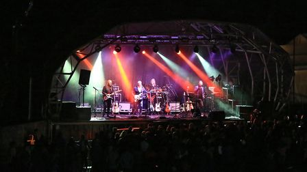 Headliners 10CC end the Sunday show at Meraki Festival 2018. Picture: KEVIN RICHARDS