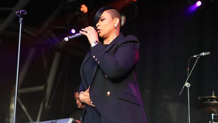 Gabrielle at Meraki Festival 2018. Picture: KEVIN RICHARDS