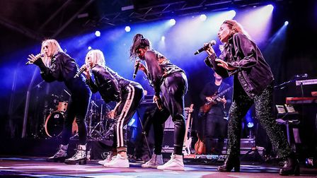 Headliners All Saints at Meraki Festival 2018. Picture: KEVIN RICHARDS