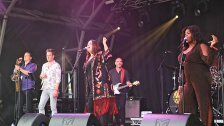 Annabel Williams at Meraki Festival 2018. Picture: KEVIN RICHARDS