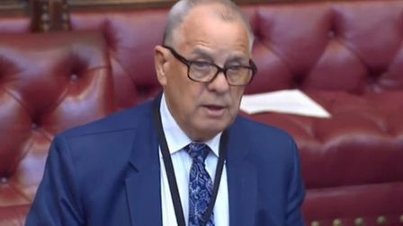 Lord Brooke warns about privatisation of the NHS after Brexit. Photograph: House of Lords.