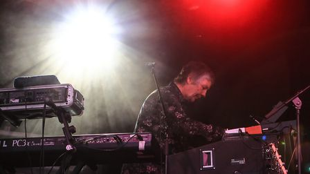 Don Airey at Meraki Festival 2018. Picture: KEVIN RICHARDS