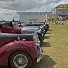 Vintage cars line up at IWM Duxford. Picture: IWM.