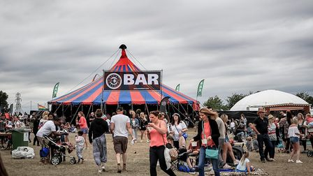 The Beer Bar at Meraki Festival 2018. Picture: KEVIN RICHARDS