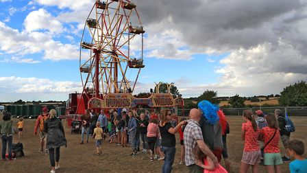Queuing for the Big Wheel at Meraki Festival 2018. Picture: KEVIN RICHARDS