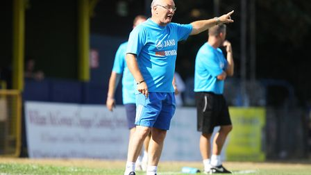 St Albans City V Hungerford Town - St Albans City manager Ian Allinson.Picture: Karyn Haddon