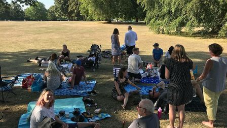 The BMF picnic. Picture: St Albans BMF