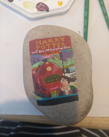 Harry Potter and the Philosopher's Stone by J. K. Rowling. Picture: Ella Dickson