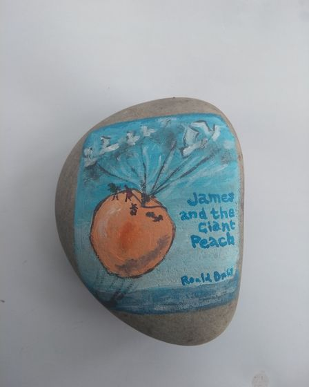 James and the Giant Peach by Roald Dahl. Picture: Ella Dickson