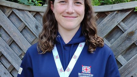 Poppy Shipley struck gold at the British Rowing Sculling Festival