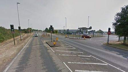 The A505 near IWM Duxford. Picture: Google Street View
