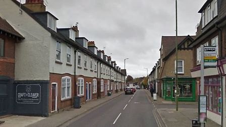 Catherine Street, St Albans. Picture: Google.