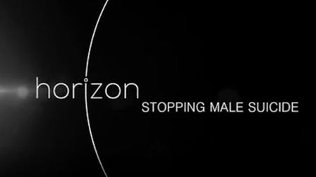 Steve Mallen is to feature on BBC Horizon: Stopping Male Suicide on Wednesday. Picture: BBC