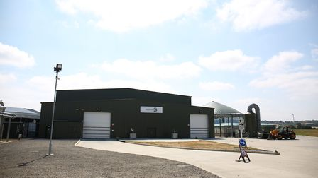 The Agrivert recycling plant in Colney Heath. Picture: DANNY LOO
