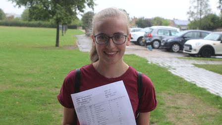 Longsands student Mellisa Quail got 6A*'s and is off to University of Cambridge to study mathmatics.