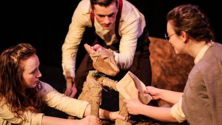 Ingo's War by Ditto Theatre Company - part of The Library Presents autumn season. Picture: CONTRIBUT
