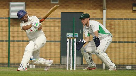 Huntingdon & District batsman Faisal Javed has hit back-to-back centuries. Picture: SEAN HICKIN