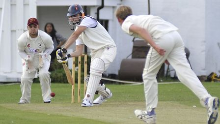 St Ives captain Jack Haycock hit a first century at first-team level.