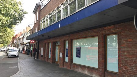 The former RBS branch in St Albans.