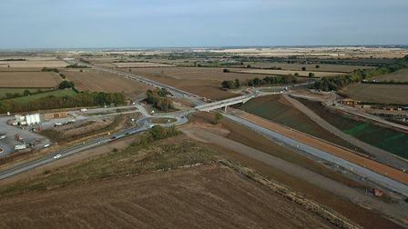 Progress being made on the A14. Picture: GEOFF SODEN