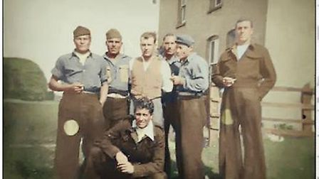Prisoners of War at a Royston farm. Picture: Courtesy of Guiseppe Schipani