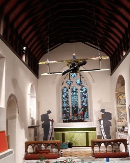 The community weekend commemorating the end of WWI at St Michael's Church. Picture: Peter Lindeman