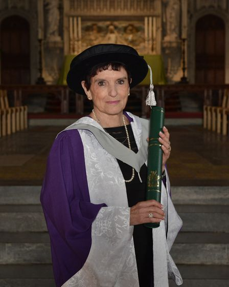 Dame Helen Hyde. Picture: University of Hertfordshire