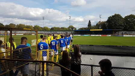 St Albans City battled Concord Rangers at Clarence Park in the Vanarama National League South.