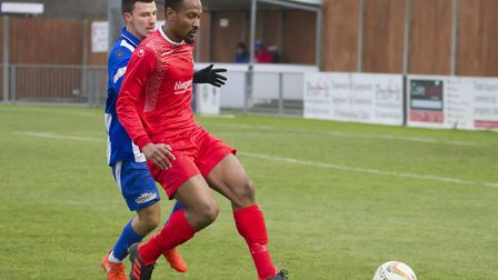 New signing Nabil Shariff struck twice in the first game of his second St Neots Town spell as they w