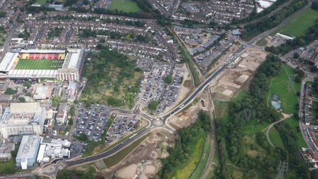Thomas Sawyer Way in Watford will open to the public from November 16, 2016