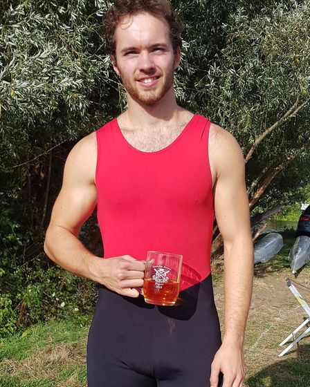 David Welch of St Ives Rowing Club triumphed at the Cambridge Autumn Regatta.